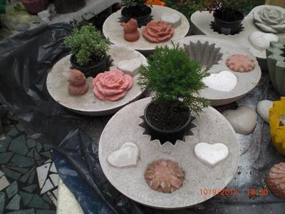 Beton giessen - DIY - Pflanzschale aus Beton giessen