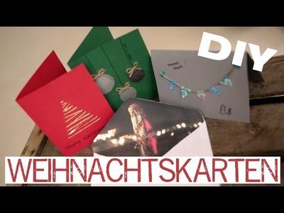 DIY Weihnachtskarten - kekulo