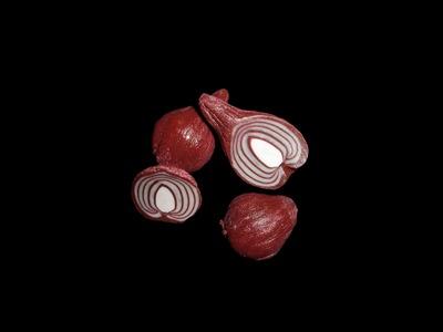 FIMO Zwiebel: Polymer Onion - Tutorial [HD.DE] (EN-Sub)