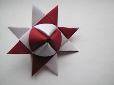 Fröbelstern -Variante 1- Tutorial, Faltanleitung