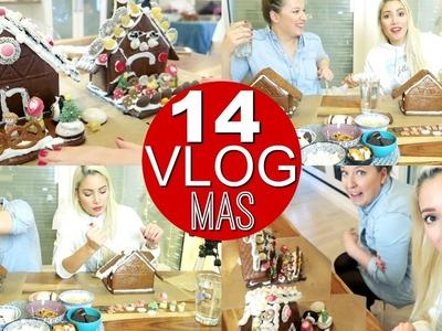 Gingerbread House Challenge mit meiner Freundin | VLOGMAS 2016 funnypilgrin