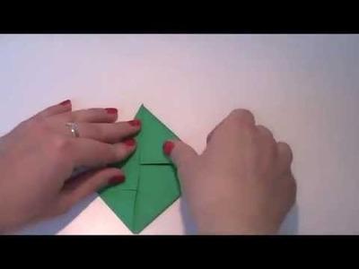 Origami - Anleitung zum Frosch falten Kaeru