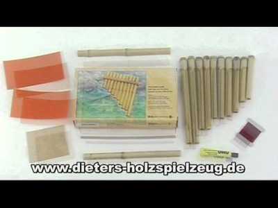 Panflöte basteln - Bastelset von dieters - Made in Germany