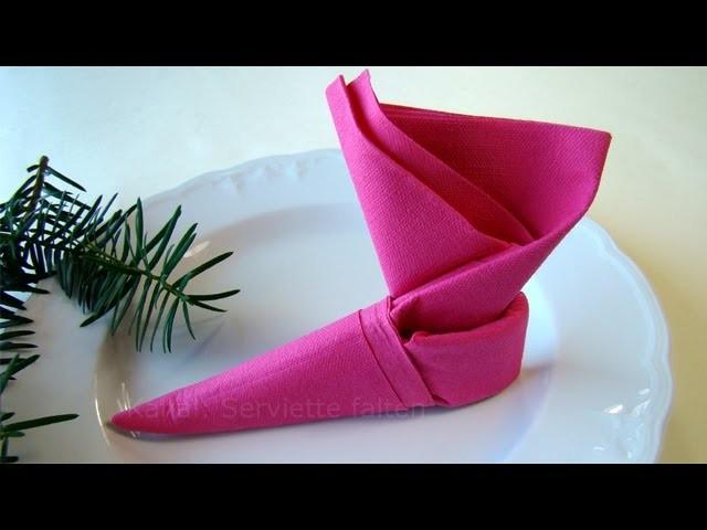 weihnachten servietten falten weihnachtsdeko selber. Black Bedroom Furniture Sets. Home Design Ideas
