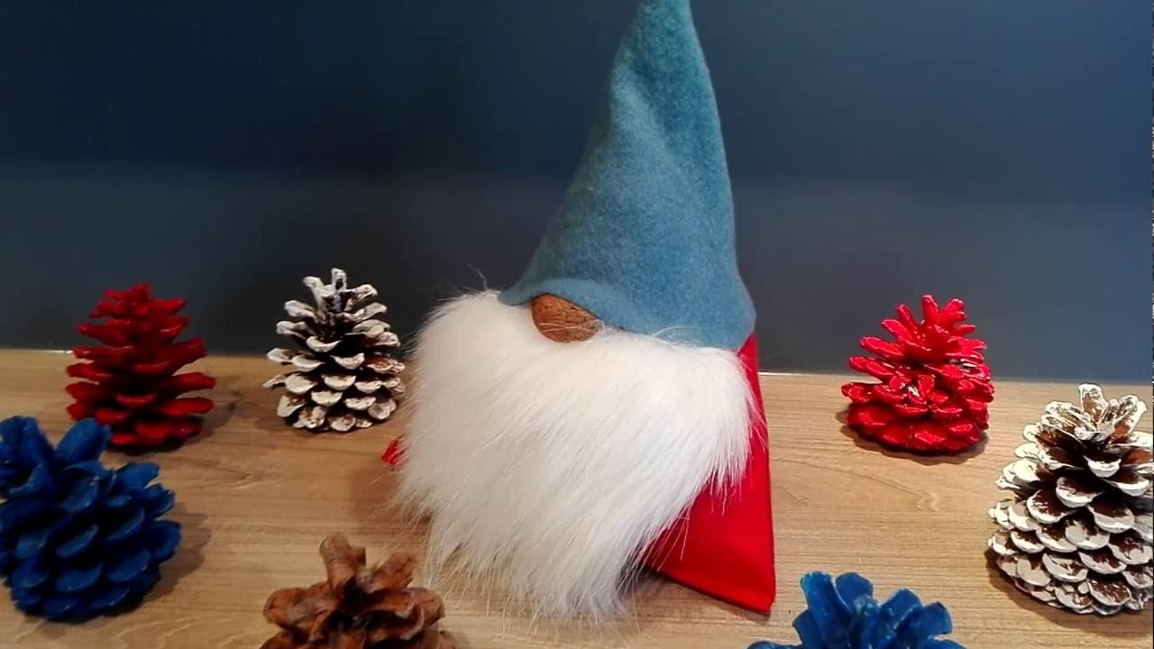 Wichtel, Weihnachtsmann, Nikolaus basteln aus Stoff ...