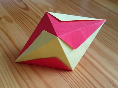 Origami The Lightning Bolt Octahedron