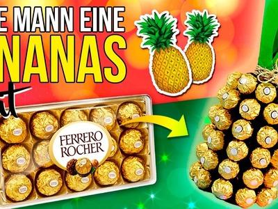 DIY Ananas GEMACHT von SCHOKOLADE und WEIN * EINFACH Christmas DECOR