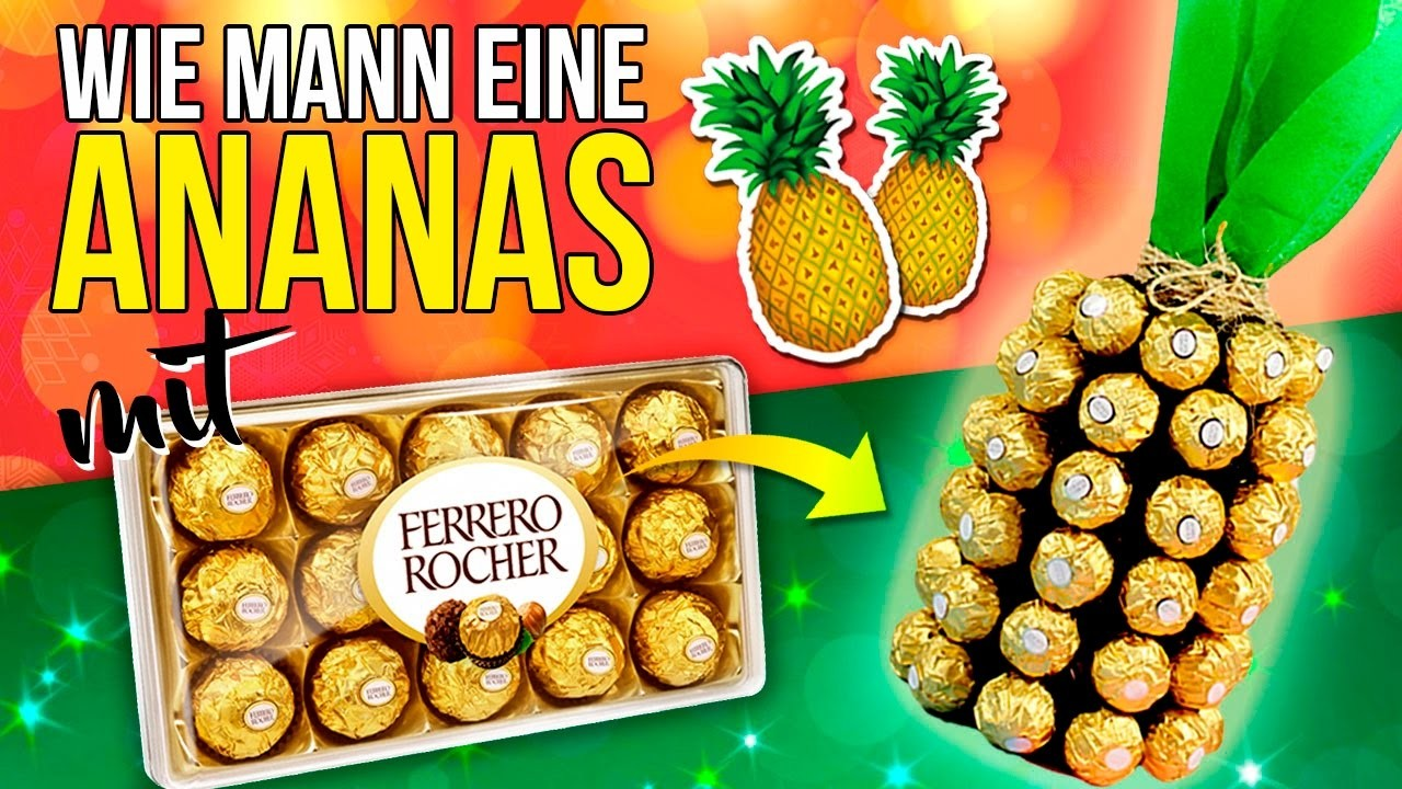 diy ananas gemacht von schokolade und wein einfach christmas decor. Black Bedroom Furniture Sets. Home Design Ideas