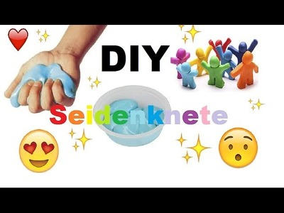 DIY Seidenknete. DIY Silk Clay. Seidenknete selber machen