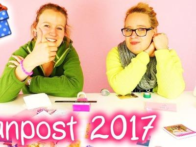 Erstes FANPOST Unboxing 2017 | DANKE für die wunderschöne Post | DIY Inspiration