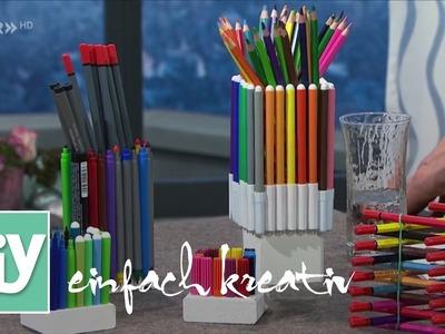 Stiftehalter fürs Büro | DIY einfach kreativ
