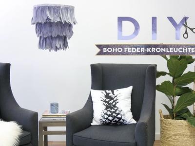 Boho Feder-Kronleuchter | WESTWING DIY-Tipps