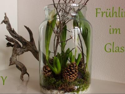 DIY | Frühling im Glas | Frühlingsdeko mit Naturmaterialien | Just Deko