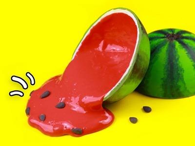 DIY - Wassermelone mit Schleim selber machen!