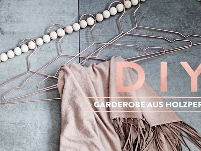 Garderobe aus Holzperlen | WESTWING DIY-Tipps