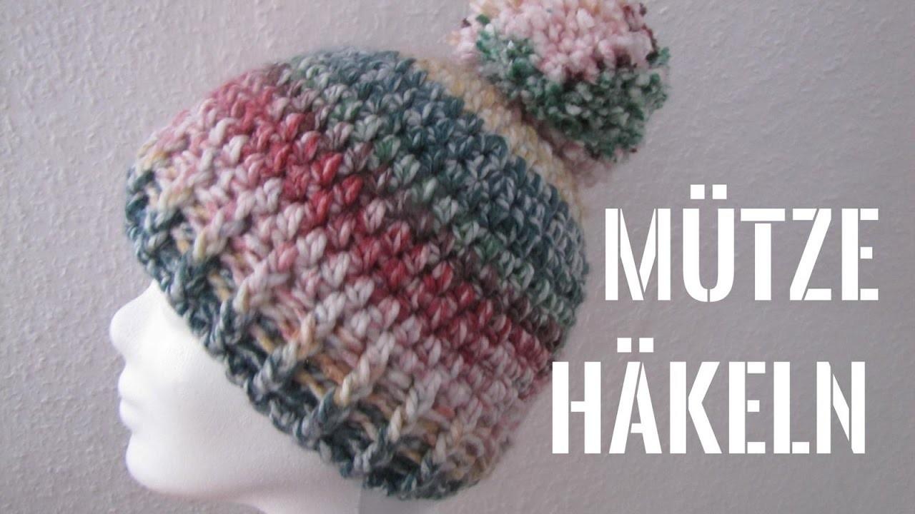 Mütze Mit Bommel Häkeln Anfänger Pompom Mütze