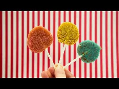 Rezept: Lollis selbst machen ganz einfach I Lollipops Tutorial I Kindergeburtstag