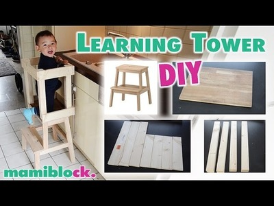 Das genialste Möbelstück für Kleinkinder | DIY Learning Tower | mamiblock