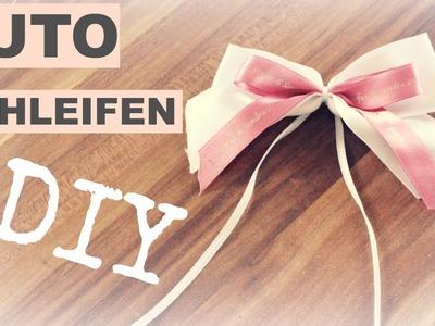 DIY Autoschleifen | Schleifen binden | Hochzeitsvorbereitung | braut.TV