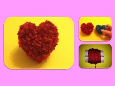 DIY HEART QUICK EASY GIFT IDEAS FOR VALENTINE'S DAY; HERZ GESCHENK zum VALENTINSTAG SCHNELL EINFACH