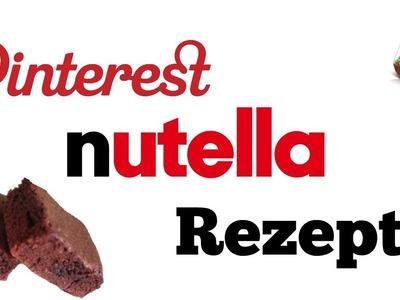 DIY Schnelle Pinterest Nutella Rezepte | schnell & einfach