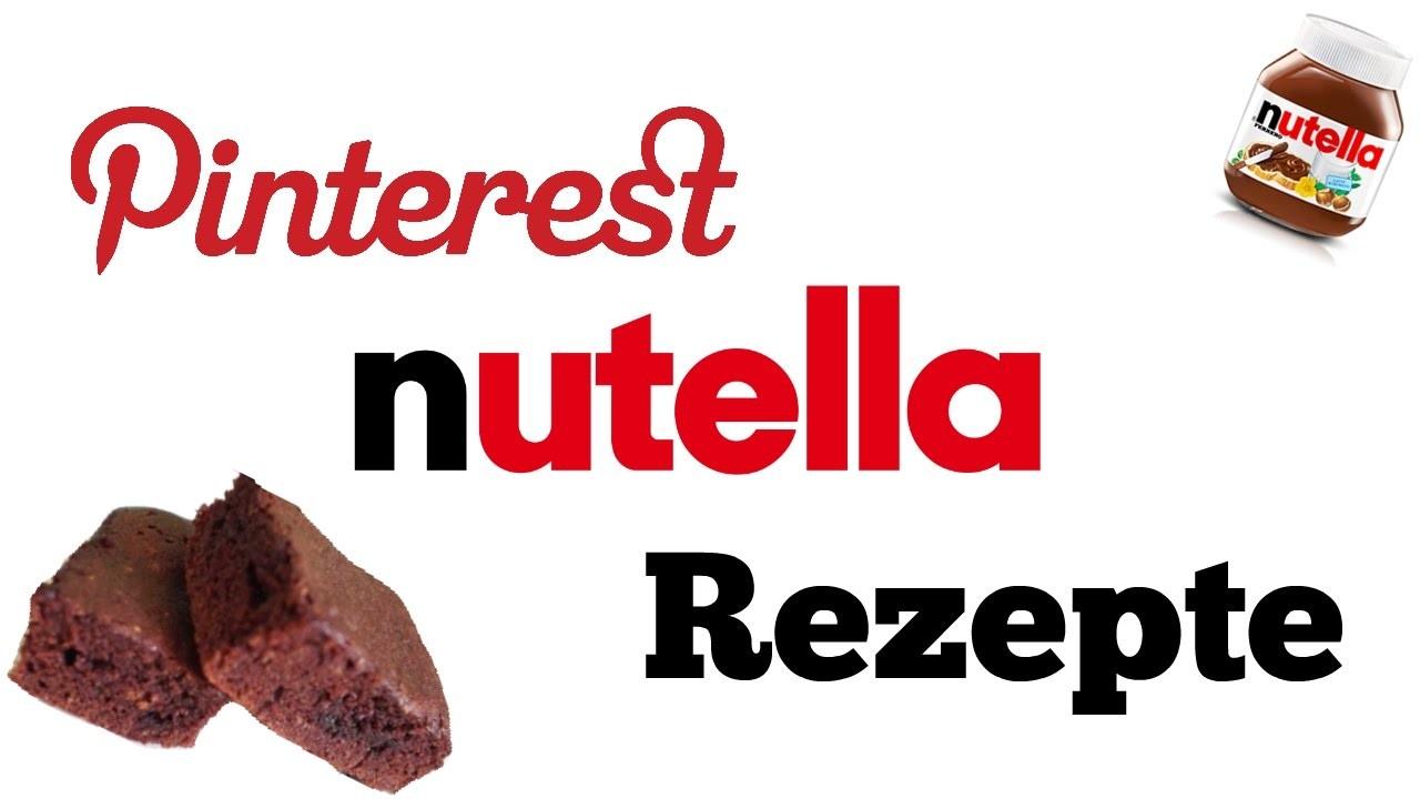 DIY Schnelle Pinterest Nutella Rezepte   schnell & einfach