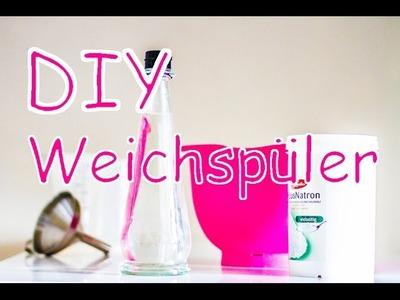DIY Weichspüler mit Natron und Essig selber machen