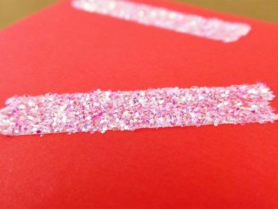 Glitzer Klebeband selber machen | Coole DIY Deko Idee | Super einfach & wunderschön
