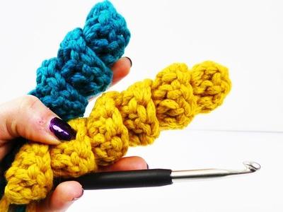 Lustige Spiralen Häkeln | Coole Schlüsselanhänger & Deko Idee | Amigurumi | Technik für Anfänger