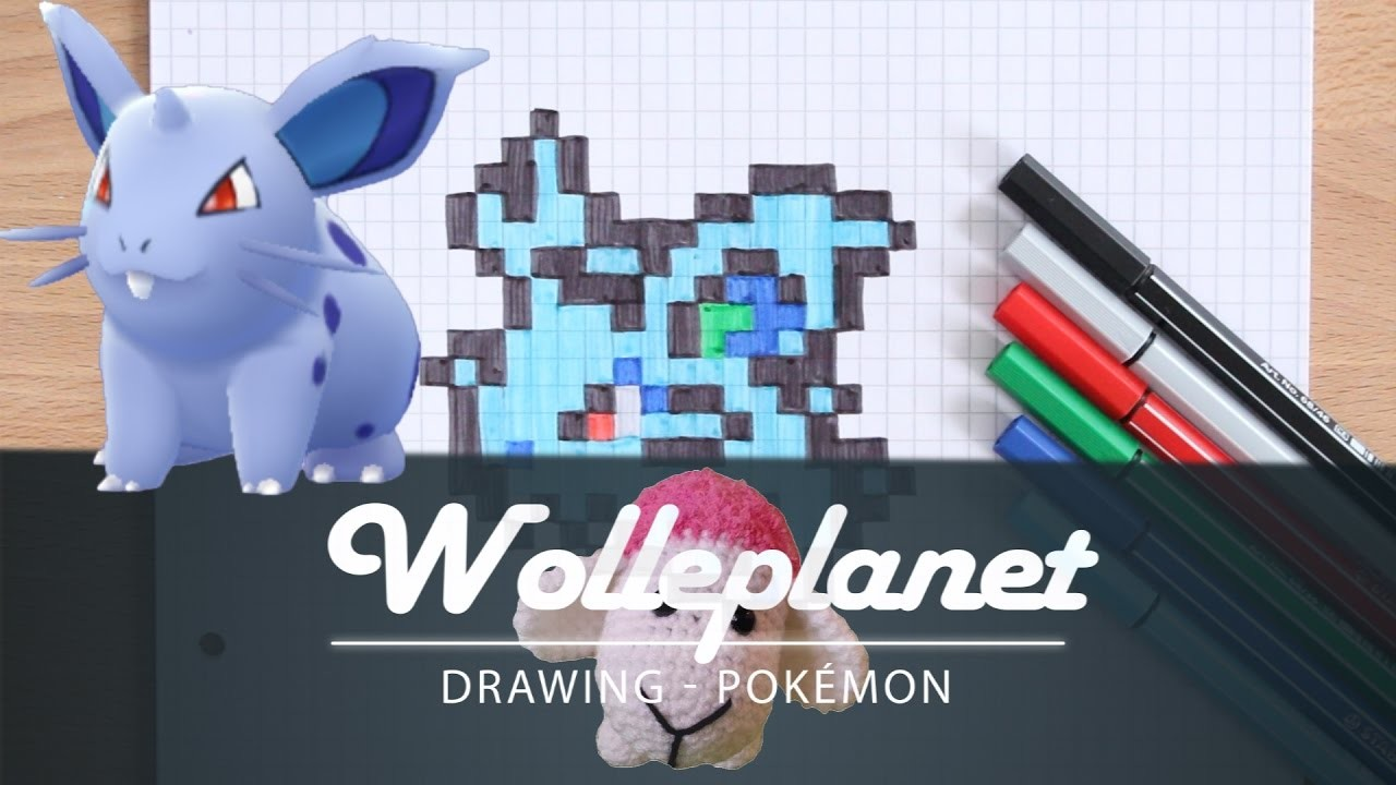 art pixel art pokemon nidoran drawing wie zeichnet man ein schnurrbart pixel art deutschland. Black Bedroom Furniture Sets. Home Design Ideas