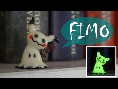 Pokemon Mimikyu. Mimigma ~ Fimo. Polymerclay. Tutorial
