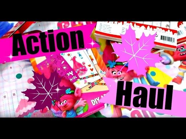 ACTION EINKAUF | Trolls, Papiere, Weihnachtsdeko 2016, Stempel | 9999 Dinge Trends & Ideen