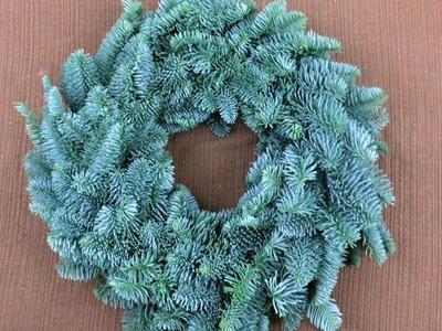Adventskranz binden ❁ Weihnachtsdeko ❁ Deko Ideen mit Flora-Shop