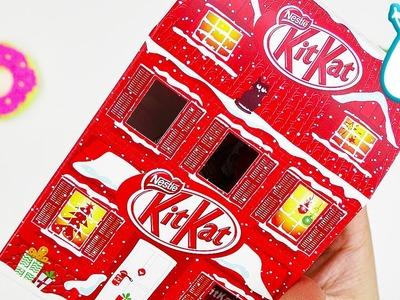 KitKat Adventshäuschen im SCHNELLTEST | Weihnachtsdeko zum essen!? | IN ALLER MUNDE