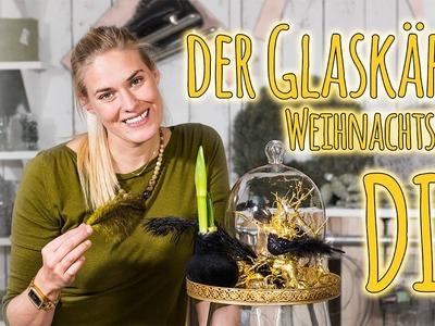 Weihnachtsdeko DIY-  der Glaskäfig
