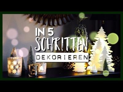 ⭐️ Weihnachtsdeko in 5 Schritten ⭐️ #Wohnprinz #Kooperation #Depot