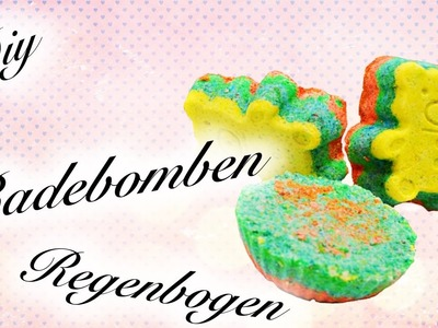 [HOW TO] LUSH BADEKUGEL SELBER MACHER⎟REGENBOGEN ⎟BATH BOMB⎟SIMPLE DIY⎟
