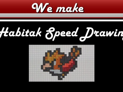 Pixel Art Pokemon Habitak Drawing