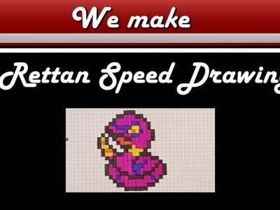 Pixel Art Pokemon Rettan Drawing