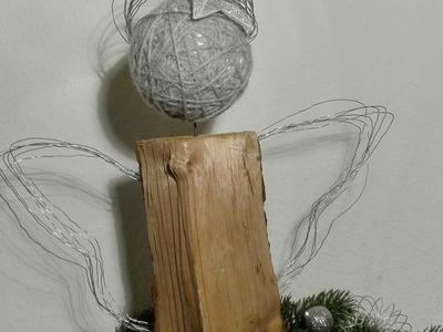 Engel basteln aus Kaminholz und Gartendraht - Holzengel, das Originalvideo
