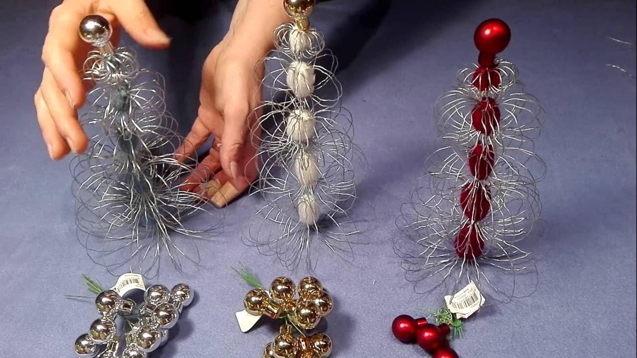 Weihnachtsbaum basteln aus gartendraht und faden - Weihnachtsbaum aus pappe basteln ...