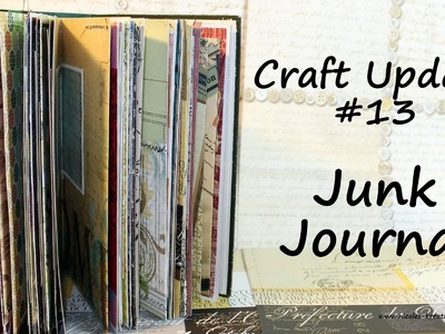 [Craft Update #13] Junk Journal |HD|