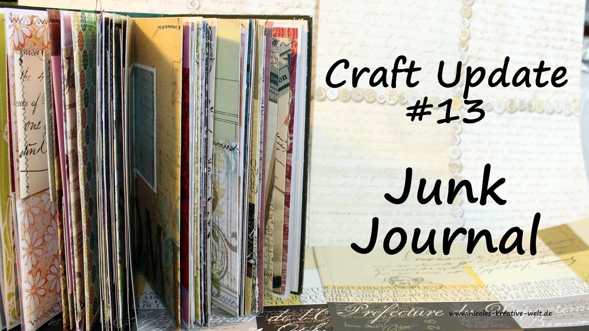 [Craft Update #13] Junk Journal |HD|