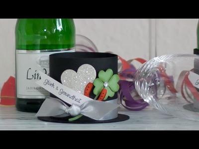 DIY - Silvester Tischdekoration mit Stampin' Up! Produkten