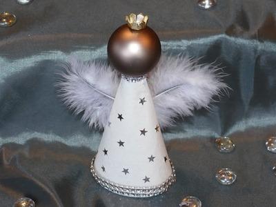 Engel basteln aus Filtertüten. tinker angel – einfach