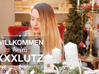 DIY Adventskranz - XXXLutz Inspiration