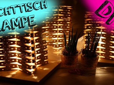 DIY | DESIGNER LAMPE AUS WÄSCHEKLAMMER