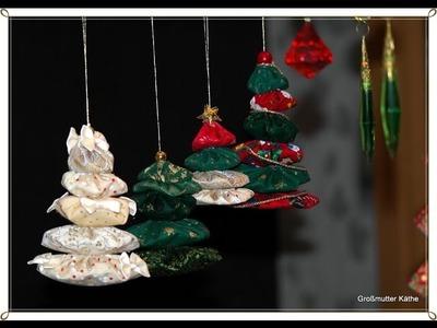 Käthes Nähstunde DIY Weihnachtsdeko Tannenbaum aus Yoyo`s