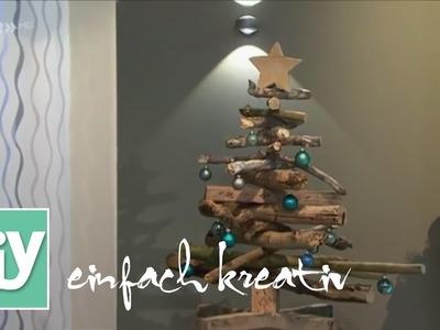 Weihnachtsbaum aus Treibholz | DIY einfach kreativ