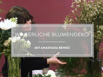 Winterliche Blumendeko mit Anastasia Benko | WESTWING DIY-Tipps